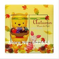 Hot sale!Free shipping!20pc/lot,90mm*90mm,fashion cartoon switch sticker,bear switch paper wall sticker