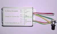 A46A PWM Speed Governor 12V 30A DC motor speed controller