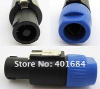 10pcs / 1 lot NL4FC Speakon 4 Pole Plug Male Audio Speaker Connectors SL5285