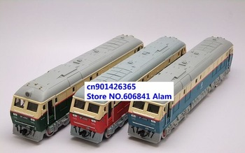 Free shipping 5pcs/lot Dongfeng 0452 locomotive Long locomotive alloy Car train model Toy train Vehicles gifts for Kids
