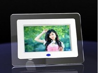 7 inch digital photo frame with multi-functions with 4 led light