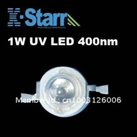 Wholesale Top Quality 1W 400-410nm UV High Power Led Emiting Source,2 years Warranty+Free shipping