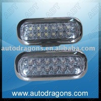 Free shipping!Daytime running light,5mm led drl,12leds/pcs,wholesale!white,red,blue,yellow,SW-3036