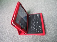 Fashion bluetooth  keyboard for Ipad 2,with Folding Leather Protective Case,Hot selling!
