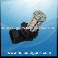 Free shipping!DRL LED daytime running light base9006 24leds fog lamp 9006SMD-24W