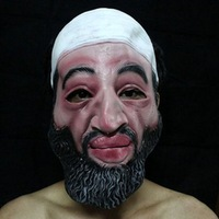 Wholesale halloween Bin Laden mask Halloween Cloth accessories Free shipping