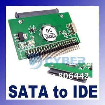 7+15 Serial ATA SATA to IDE 2.5 Male Horizontal Adapter Connector  dropshipping
