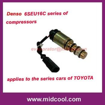 DENSO 6SEU16C series of Compressor control valves for toyta.