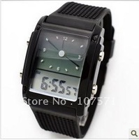 Free shipping Fashional Unisex Water Resistant Sports Watch