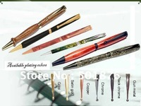 Fancy pen kits on hot sales/ fancy slimline pen /favourable price/Gold,Satin Gold,Copper,Chrome plating etc.