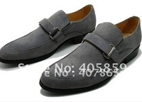 Wholesale - high quality men's shoes fashion clasp design, true cowhide, assembling a man leather shoes