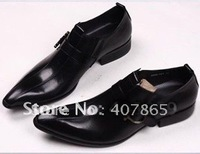 Wholesale - new style hot sell free shipping man leather shoes genuine shoes good leather and wholesale
