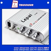 Wholesale 4pcs/lot LP838 Mini Amplifier 2.1-channel Power Amp Stereo Amp for MP3 MP4 Car Motorcycle Bike #LQ008