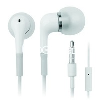 Free Shipping Handsfree earphone headphone headset with mic for iPhone 4