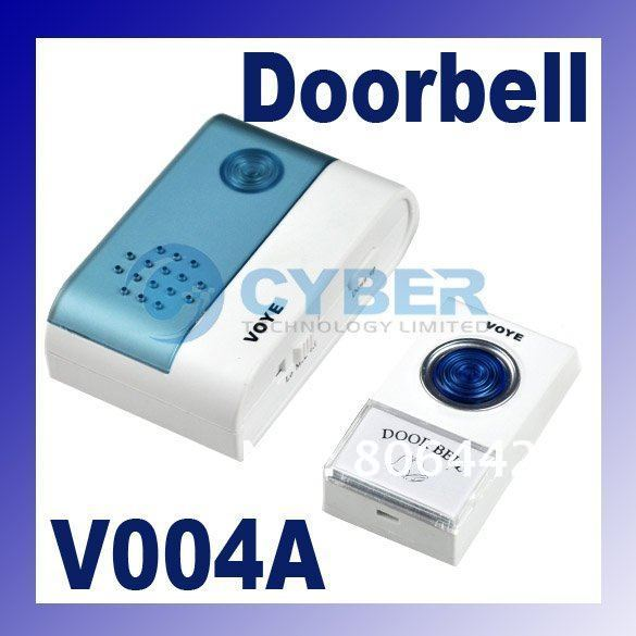 38 Tunes Songs Wireless Doorbell Door bell with Remote Control 1848(China (Mainland))