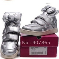 Free shipping!! 2011 HYOMA Women's High Sports Shoes Beautiful Hyoma SneakersGold In