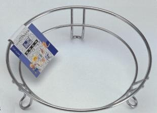 wholesale Stainless steel steam rack (diameter 19 cm,7 inch) round cooking wire(China (Mainland))
