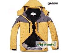 Wholesale 2011 Men Style Outdoor Waterproof Jacket orange Color: 8538