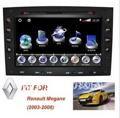 RENAULT MEGANE Car GPS Navigation System DVD Player Free Shipping(China (Mainland))