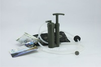 Soldier protable water filter - outdoor water purifier--- free shipping cost