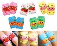 Wholesale-new arrival 20 pairs 5 designs/kids Kneepads Leg warmers/Baby socks/Baby knee warmers/Baby knee pad