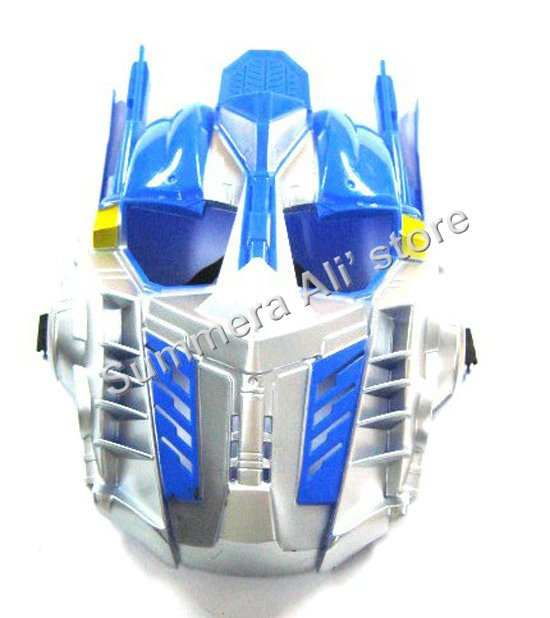 Plastic Halloween mask Optimus Prime Bumblebee Transformers for Halloween MS-AT80 20pcs/lot(China (Mainland))