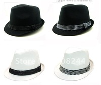 The latest British style with men and women as Europe and America with paragraph small hat jazz cap