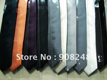 Free Shipping By Express Freight Courier New Arrival Slim Silk Necktie