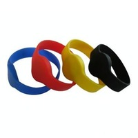 125KHz Waterproof Silicon RFID Wristband For Swimming Pool