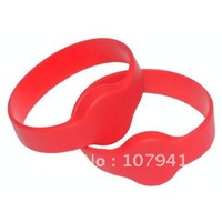 125KHz Waterproof Silicon RFID Wristband with TK4100 for Events