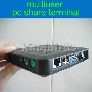 10pcs/lot cheapest multiuser pc share terminal / PC Station / Thin Client / mini Net Computer / PC sharer