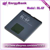 BL-6F Battery For Nokia Cellular N78 N79 N93i N95 8GB N96 6788 Mobile Cell Phone 1150mah Free Shipping 2pcs