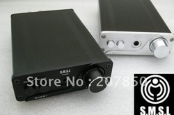 Free shipping S.M.S.L SAD - 01 TA2024 digital borne power amplifier (built-in USB decoder, ear put) silver/ black(China (Mainland))