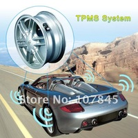 NEW!! Orange AUTO TPMS + 4.3inch GPS 4 Sensors Color Display correctest choice! Wholesale&retail FreeGift PAYPAL is OK(NC-045GM)