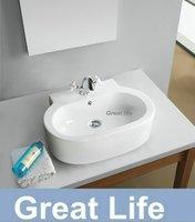Free shipping   art basin , ceremic wash TD3004 basin