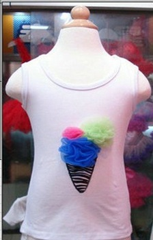 Free shipping 2012 New Design  Baby top baby shirt Girl's Puff Tutu top kids Pettiskirt top Pettitop 10pcs/lot,MFT-022