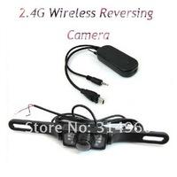 Free Shipping 2.4G Wireless Car Rear View Back-UP Reversing Camera Monitor 5pcs/lot