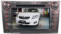 TOYOTA CAR GPS DVD Player ISDB-T Corolla