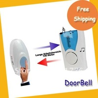 ON SALE Free shipping Door Bell--high quality White Wireless Music Doorbell, Remote Wireless Control Door Bell
