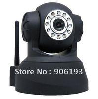 FREE SHIPPING MPEG4 Night Vision WPA Internet wifi wireless ip camera,wifi ip camera