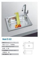 Hot item TC-832 Single Bowl Stainless Steel Sink Kitchen Sink
