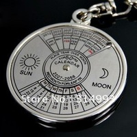 2014 HOT Classic compass key  key chain calendar key free shipping