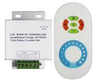 RF led touch dimmer,DC12-24V input,max12A output,used for the single color led strip,modules.etc