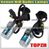 New Free Shipping 2 x Bulbs Headlight Lighting Lamps Car Xenon HID H4 3000K