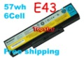 Free shipping&amp;Battery FOR Lenovo E43 E43A E43G E43L K43 K43A K43G