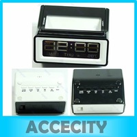 Digital LCD Display RGB Color Change Star LED Light Projection Alarm Clock free shipping