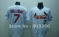 Wholesale Baseball uniform/White Series 5pcs/lot free shipping by DHL