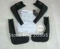 free shipping! 10-11 SUBARU OUTBACK plastic fender splash guard mudguard 4pcs