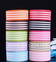 "5/8""16mm Mixed stripes GROSGRAIN RIBBON hairbow"