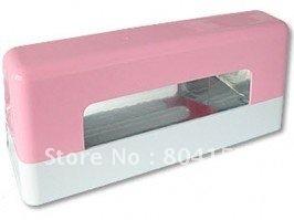 Free Shipping Pink EU Plug 9W Nail Gel UV Light Lamp